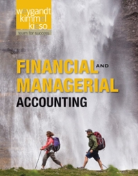 Financial and Managerial Accounting 1st edition 9781118004234 111800423X