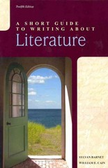 A Short Guide to Writing about Literature 12th edition 9780205118458 0205118453