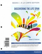 Discovering the Life Span, Books a la Carte Plus NEW MyDevelopmentLab with eText -- Access Card Package 2nd edition 9780205216185 0205216188
