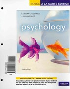 Psychology, Books a la Carte Plus NEW MyPsychLab with eText -- Access Card Package 3rd edition 9780205217649 0205217648