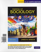 Essentials of Sociology, A Down-to-Earth Approach, Books a la Carte Plus NEW MySocLab with eText -- Access Card Package 9th edition 9780205218257 0205218253