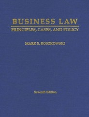 Business Law 7th Edition 9781588749406 1588749401