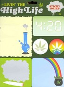 Livin' the High Life Sticky Notes 0 9781452101682 145210168X