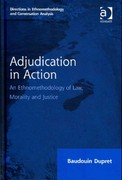 Adjudication in Action 1st Edition 9781317185413 1317185412