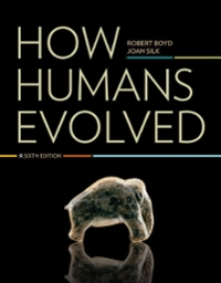 How Humans Evolved 6th Edition 9780393912272 0393912272