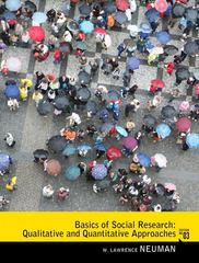 Basics of Social Research 3rd edition 9780205762613 0205762611