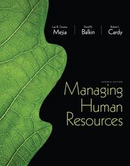 Managing Human Resources 7th Edition 9780132729826 0132729822