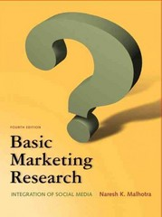 Basic Marketing Research 4th Edition 9780132544481 0132544482