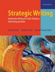 Strategic Writing 3rd Edition 9781317343882 1317343883