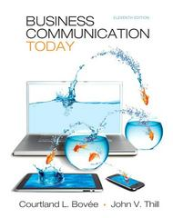 Business Communication Today 11th Edition 9780132539555 0132539551