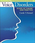 Voice Disorders 1st Edition 9780205540532 0205540538