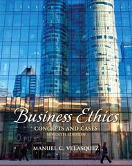 Business Ethics 7th Edition 9780205017669 0205017665