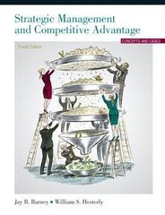 Strategic Management and Competitive Advantage 4th Edition 9780132555500 0132555506