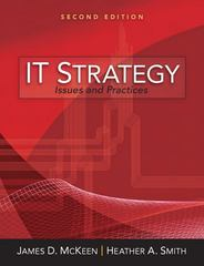 IT Strategy 2nd Edition 9780132145664 0132145669