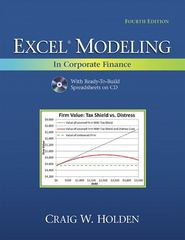 Excel Modeling in Corporate Finance 4th Edition 9780132497848 0132497840