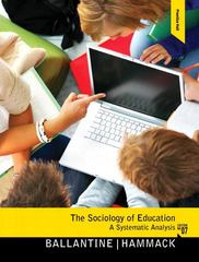 The Sociology of Education 7th edition 9780205800919 0205800912