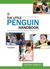 The Little Penguin Handbook 3rd edition 9780205211340 0205211348