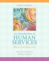 An Introduction to Human Services 8th Edition 9780205838851 0205838855