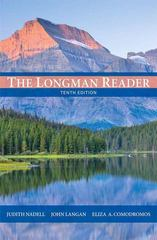 The Longman Reader 10th Edition 9780205172894 020517289X
