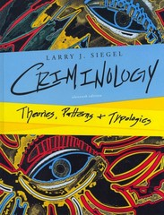 Criminology 11th Edition 9781133049647 1133049648
