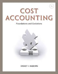Cost Accounting 9th edition 9781111971724 1111971722