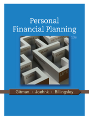 Personal Financial Planning 13th Edition 9781111971632 1111971633