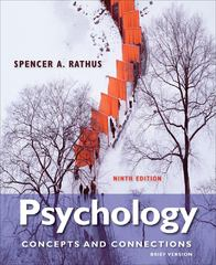 Psychology 9th edition 9781133049548 1133049540
