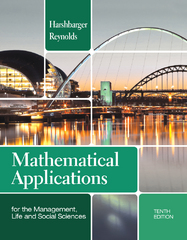 Student Solutions Manual for Harshbarger/Reynolds' Mathematical Applications for the Management, Life, and Social Sciences 1st Edition 9781133108528 1133108520