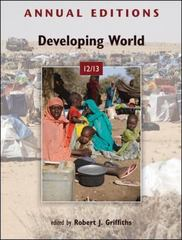 Annual Editions: Developing World 12/13 22th Edition 9780078051005 0078051002