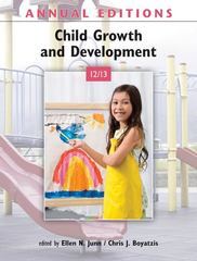 Annual Editions: Child Growth and Development 12/13 19th edition 9780078051074 007805107X