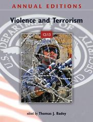 Annual Editions: Violence and Terrorism 12/13 13th Edition 9780078051111 0078051118