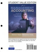 Management Accounting 6th edition 9780132567459 0132567458