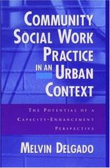 Community Social Work Practice in an Urban Context 0 9780195125474 0195125479