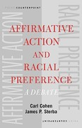 Affirmative Action and Racial Preference 0 9780195148954 0195148959