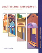 Small Business Management 4th edition 9780072817973 0072817976