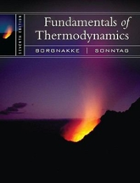 Fundamentals of Thermodynamics 7th edition 9780470041925 0470041927