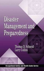 Disaster Management and Preparedness 1st edition 9781566705240 156670524X