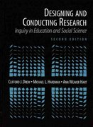 Designing and Conducting Research 2nd edition 9780205166992 0205166997