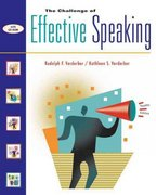 The Challenge of Effective Speaking (with InfoTrac and CD-ROM) 12th edition 9780534563851 0534563856