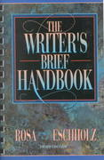 The Writer's Brief Handbook 3rd edition 9780205285129 0205285120