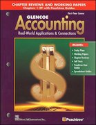 Glencoe Accounting: Chapters 1-29, Working Papers 5th Edition 9780078460982 0078460980
