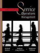 Successful Service Operations Management with CD-ROM 1st Edition 9780324135565 0324135564