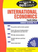 Schaum's Outline of International Economics 4th edition 9780070549500 0070549508