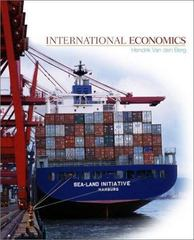 International Economics 1st edition 9780072397963 0072397969