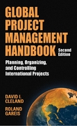 Global Project Management Handbook: Planning, Organizing and Controlling International Projects, Second Edition 2nd edition 9780071491556 0071491554
