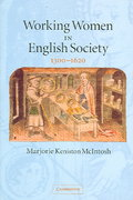 Working Women in English Society, 1300-1620 1st Edition 9780521608589 0521608589