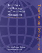 Transnational Management 3rd edition 9780072474565 0072474564