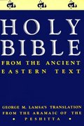 Holy Bible 0 9780060649234 0060649232