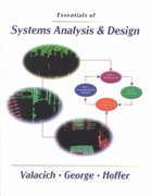 Essentials Systems Analysis and Design 0 9780130183736 0130183733