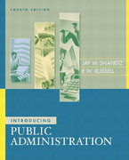 Introducing Public Administration 4th edition 9780321217318 0321217314